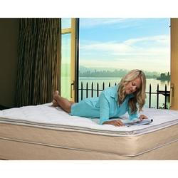 Full size 10-inch High Profile Plush Pillow Top Innerspring Mattress