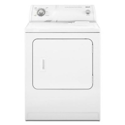Category: Dropship Eco-home, SKU #HDAED4475TQ, Title: 6.5 cu. ft. X-Large Capacity Electric Dryer in White