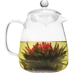 Borosilicate Glass 36 Oz Teapot with Glass Tea Infuser