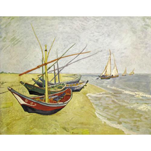 Fishing Boats On The Beach At St. Maries