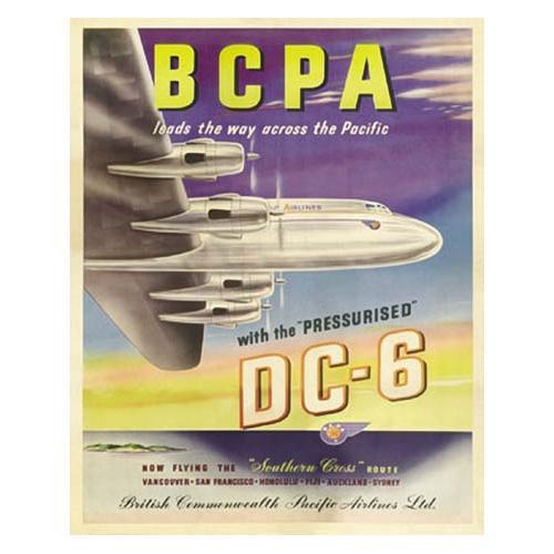 BCPA DC-6 Plane