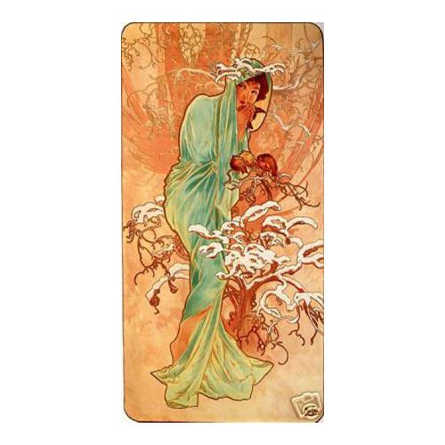 Winter Alphonse Mucha