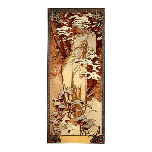 1897 Winter Alphonse Mucha