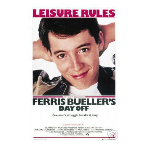 Ferris Bueller Leisure rules