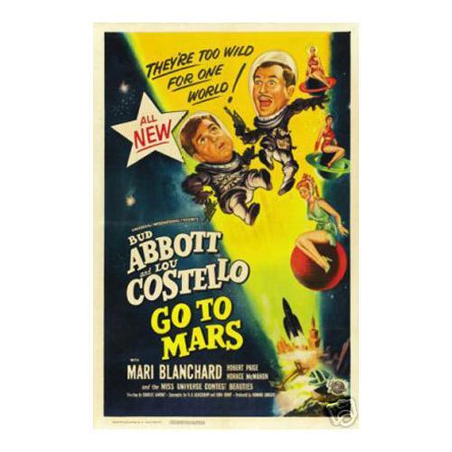 Abott and Costello go to Mars
