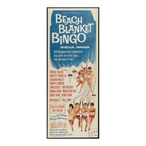 Beach blanket Buster Keaton