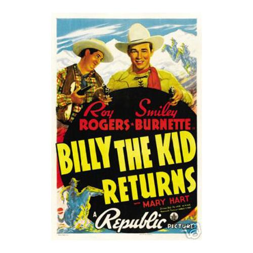 Billy the Kid Roy Rogers