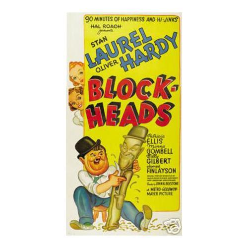 Blockheads Laurel and Hardy