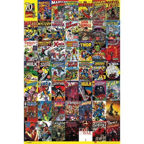 Marvel Heroes Covers