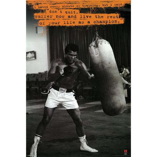 Muhammad Ali Punching Bag