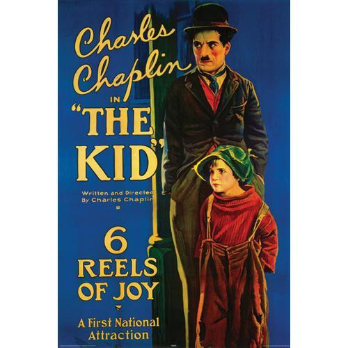 Charlie Chaplin The Kid Vintage Style