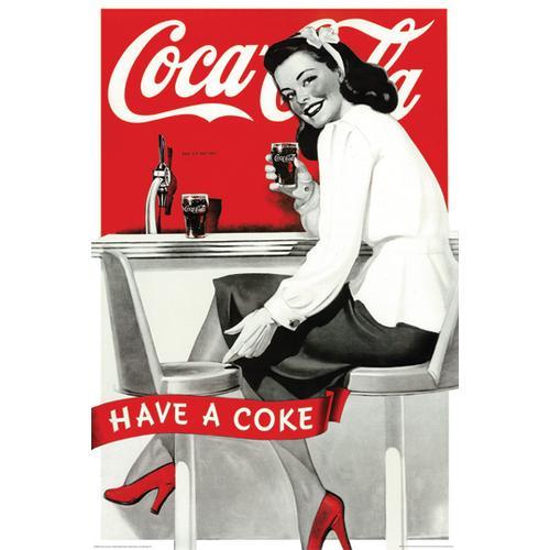 Coca Cola Vintage Ad Style