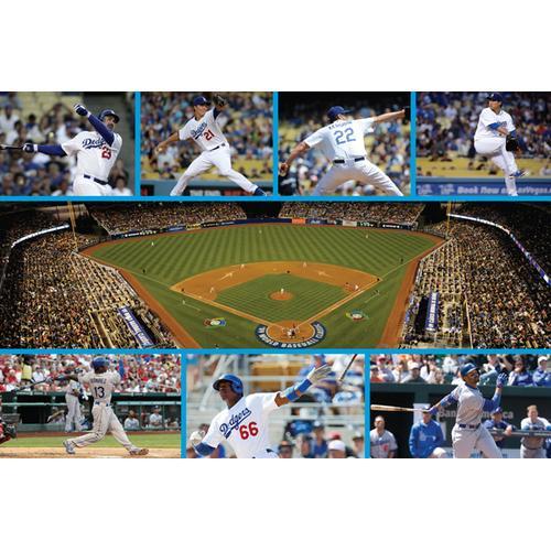 Dodger team poster