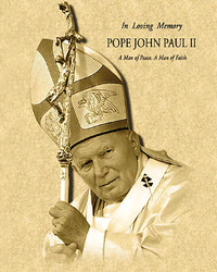 Pope John Paul II Parchment
