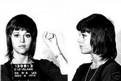 Jane Fonda Mug Shot