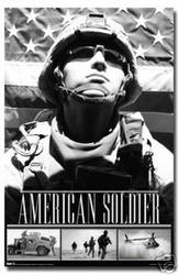 Rey Lea American Soldier