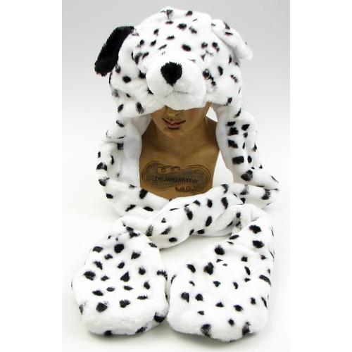 Large Dalmation Plush Hat