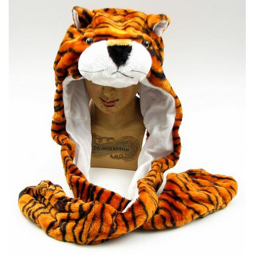 Large Tiger Plush Hat