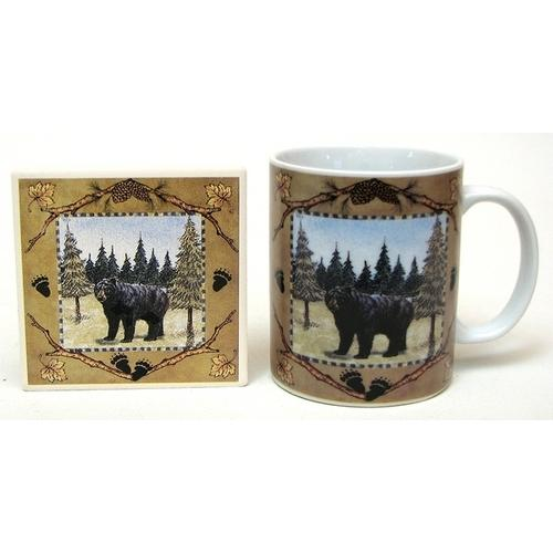 Bear Cup/Coaster Set