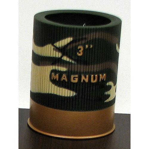 "3"" Magnum Shotgun Shell Camo Can Koosie"