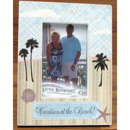 "Vacation At The Beach! 4"" X 6"" Frame"