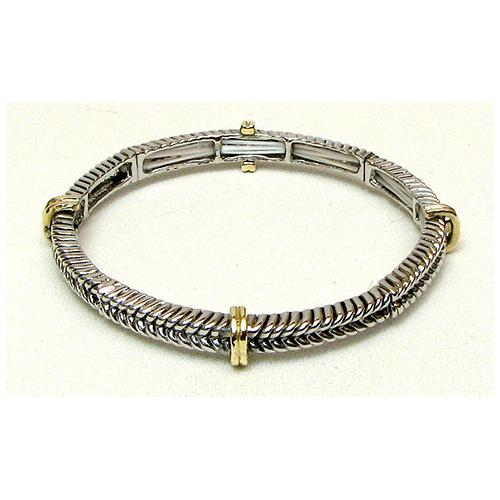 Stackable Stretch Bangle Braid Large