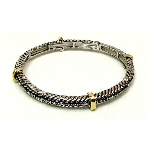 Stackable Stretch Bangle Braid Small