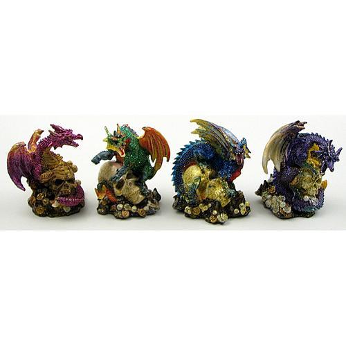 Miniature Dragons Set of 4