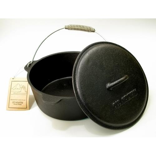 Old Mountain Cast Iron Preseasoned 4.5 qt Quart Dutch Oven