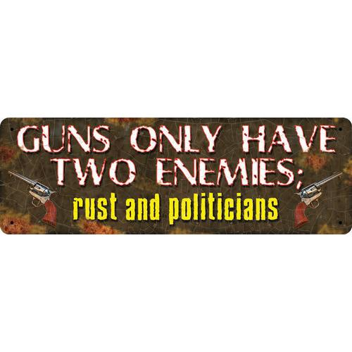 Guns Have 2 Enemies