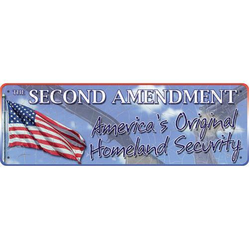 2nd Amendment Tin Sign
