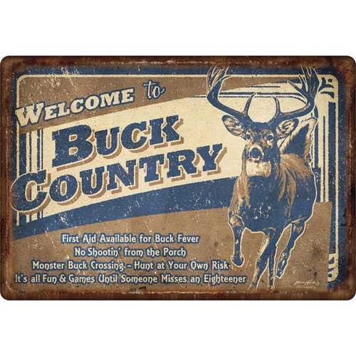 """Welcome to """"Buck Country"""""""