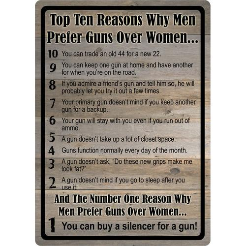 Top 10 Reasons Guns Over Women