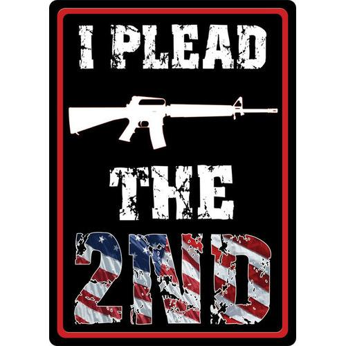 I Plead the 2nd Amendment