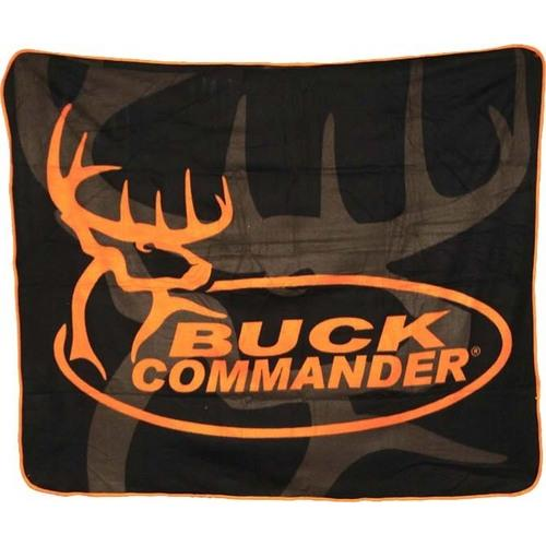 Orange Buck Commander Throw