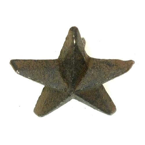 Cast Iron Nail Star - Small Set of 12