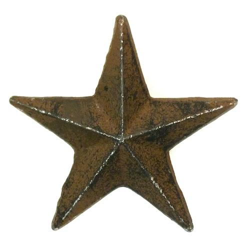 Cast Iron Nail Star - Medium Set of 12