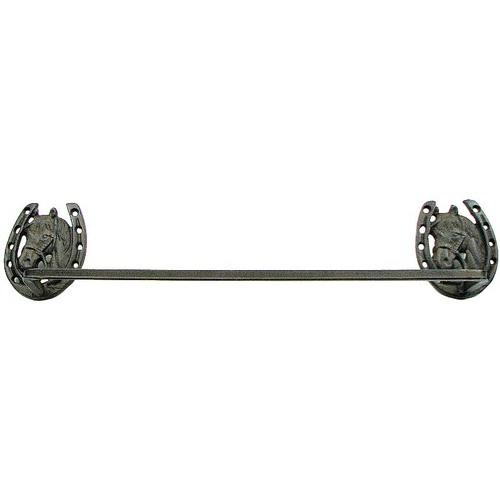 Horse Horseshoe Towel Bar