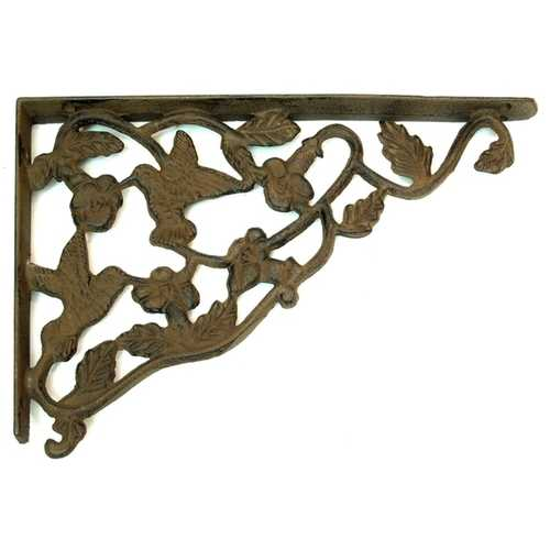 Cast Iron Hummingbird Corner Brace Set of 2