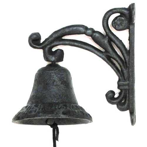 Cast Iron Vine Bell