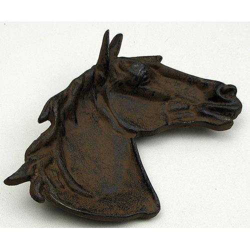 Cast Iron Horse Dish Set of 2