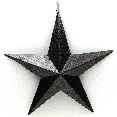 "12"" Brown Star FLAWED AS IS"