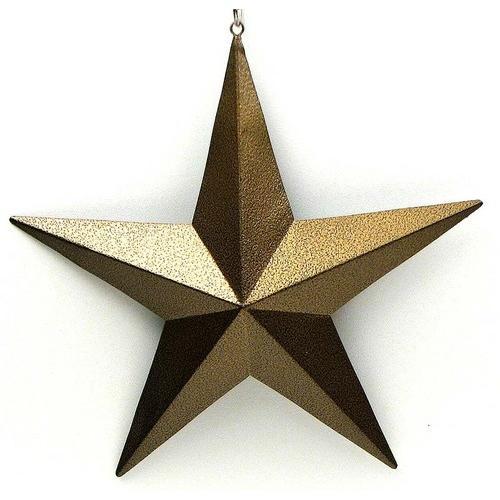 "12"" Gold Star"