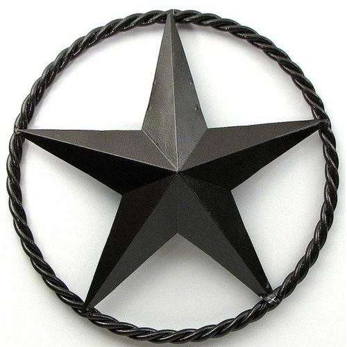 """24"""" Brown Star with Ring"""