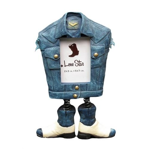 Photo Frame - Denim Jacket with Boots