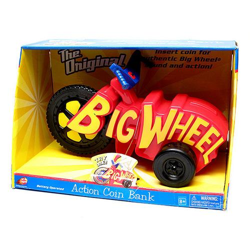 Big Wheel Coin Bank