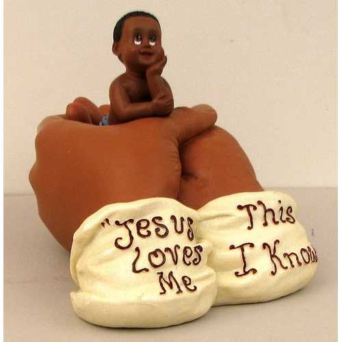 """IN HIS HANDS"" Jesus Loves Me"
