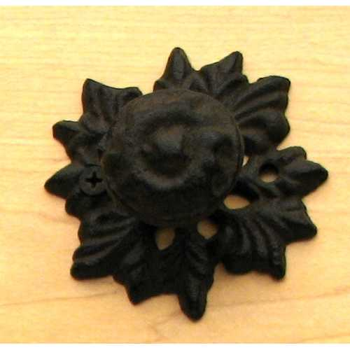 Cast Iron Leaf Drawer Pull Set of 6