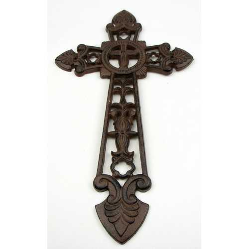 Large Cast Iron Cross