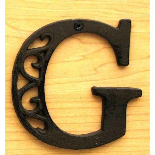 Cast Iron Letter G